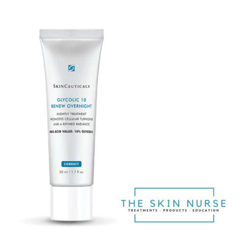 Glycolic overnight cream The Skin Nurse Teddington