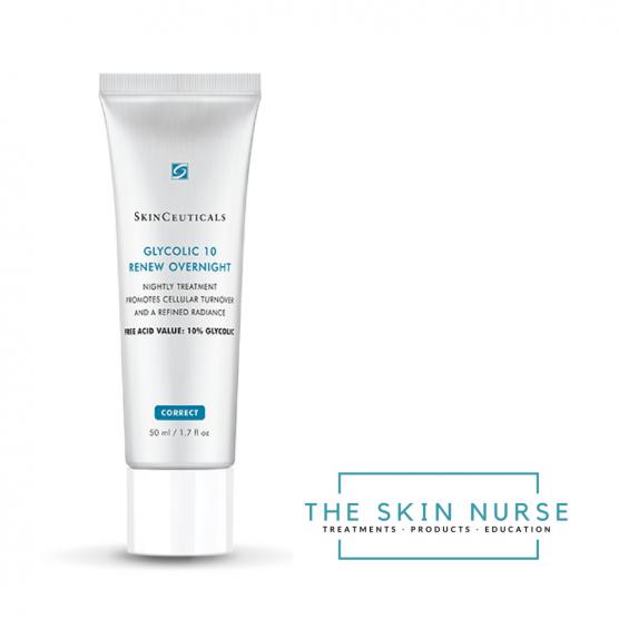 Glycolic overnight cream The Skin Nurse Teddington