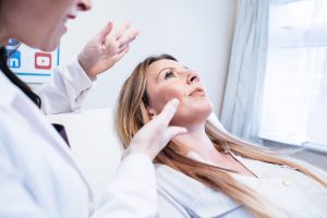 The skin nurse botox consultation