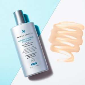 Mineral radiance SPF protection and coverage The skin nurse
